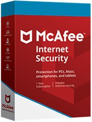 McAfee Internet Security 5-PC 1 jaar