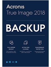 Acronis True Image 2018 Advanced 5-PC/MAC + 250 GB Cloud Storage 1 jaar