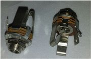 6.3mm female jack socket chassis stereo