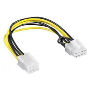 Adapter / Powercable 6p PCI-e Female / 8p PCI-E Male 0.2m