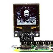 """1.12"""" Mono OLED (128x128, white/black) Breakout for Raspberry"""